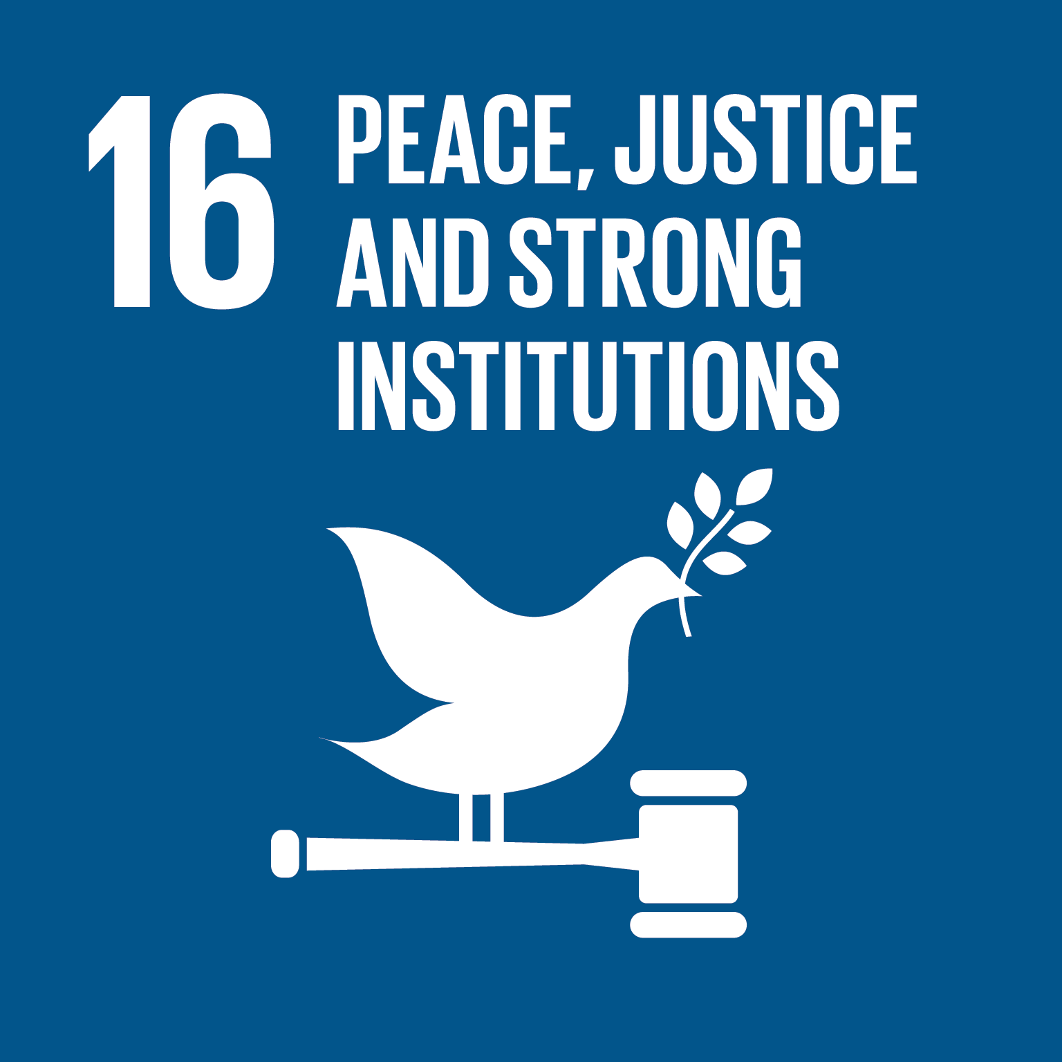 Peace, Justice and Strong Institutions - Promote just, peaceful and inclusive societies